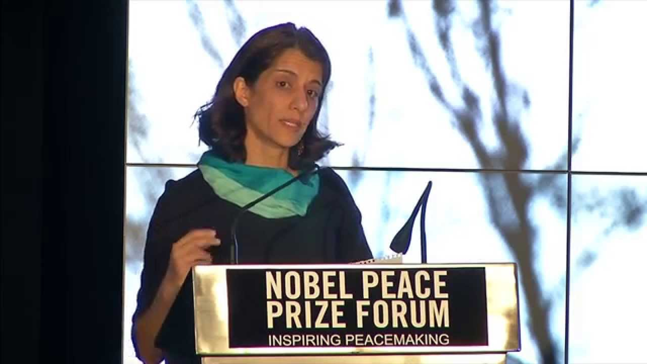 Featured Speaker: Sanam Anderlini – 2015 Nobel Peace Prize Forum
