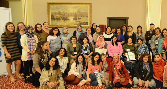 More Than 60 Womens Rights And Peace Activists From The MENA Asia Region Representing 14 Countries A Select Group Of International NGOs