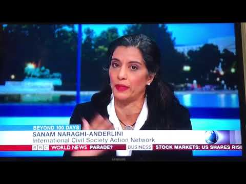 Sanam Anderlini speaks to BBC World News about Iran Hijab Protests