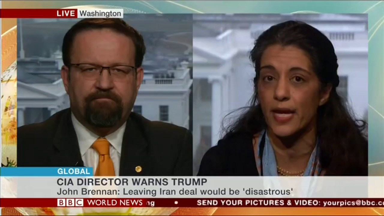 Sanam Naraghi-Anderlini speaks about security in the Middle East