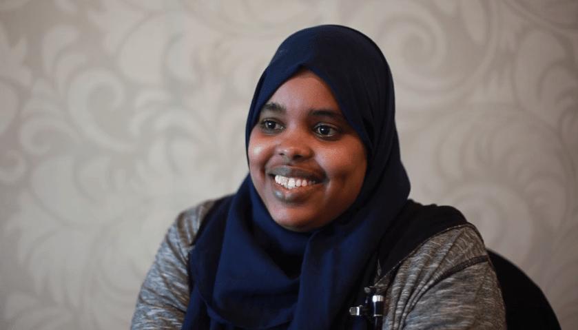 Faiza Dhocob is Fighting Terror in Somalia in the Face of Destruction