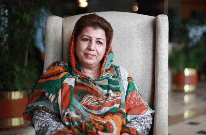Pakistani Activist Mossarat Qadeem Responds to Donald Trump