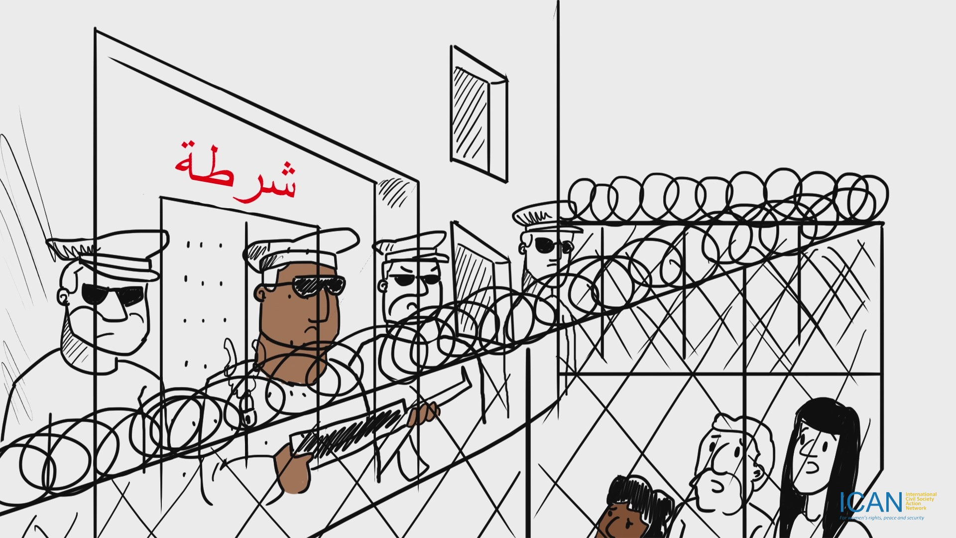 Gendered Community Policing – Arabic