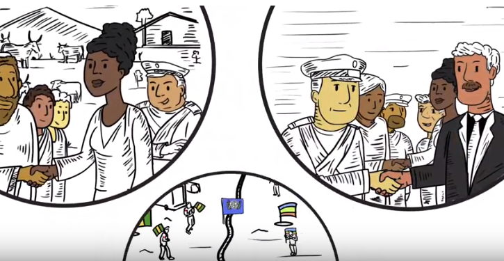 ICAN launches Arabic, French and Spanish versions of Gender Responsive Ceasefires animation